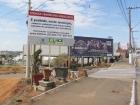 Instalação de Placas Advetindo os Vendedores Ambulantes